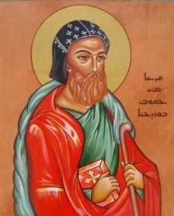 GIACOMO BARADEO, icona siriaca.