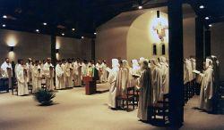 la comunidad reunida en oración