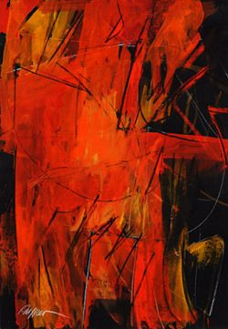 Tempera em papel, 2007