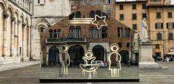 Domenico Raimondi, Welcome Difference, 2017, installazione, Lucca.