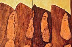 la Koinonia, détail d'une œvre de Margherita Pavesi