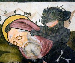 Fresco, 1472 - San Fiorenzo di Bastia di Mondovì - Italy