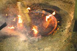 la poterie en raku de Bose