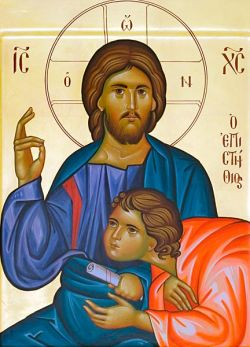los íconos de Bose, la escucha- estilo bizantino