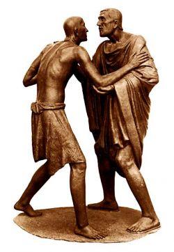 Bronze, 212x149x99,5 cm - Aqui Terme, Italy