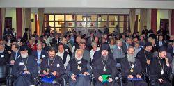 participantes en un congreso ecuménico internacional de espiritualidad ortodoxa