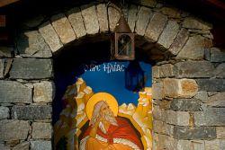 ermitage de Saint Élie, détail de la niche