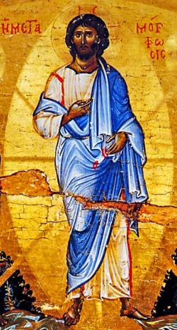 Icône du Sinaï  (détail) XIIe s.