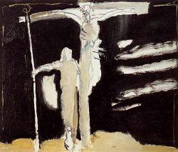 Olio su tela, cm 38 x 46  - 1994  collezione privata
