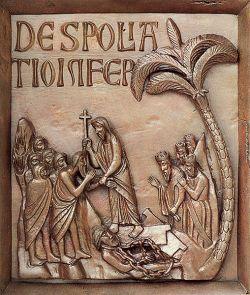 Porte du dôme de Pise (XIIe s.)